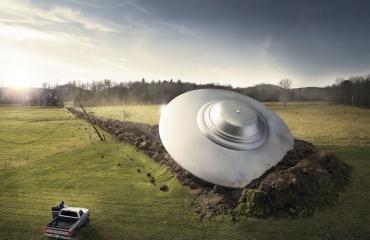 Avaruusolennot päätyivät maalle myös The Encounter-elokuvassa.