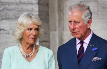 Iso-Britannian prinssi Charles ja Cornwallin herttuatar Camilla