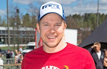 Juha Perälä löysi rakkaan.