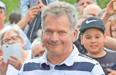 Sauli Niinistö on vaalien ennakkosuosikki.