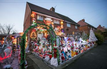 Tältä näyttää Michael ja Lyn Farnesin koti.