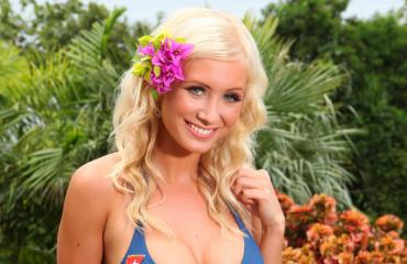 Jessica Edström nautti kesästä.