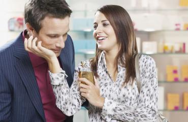 Kumppanin tuoksu voi alentaa stressiä.