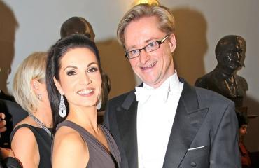 Maria ja Mikael Jungner ovat hyvissä väleissä.
