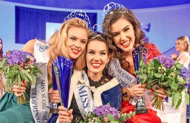 Miss Suomi -kilpailun kärkikolmikko