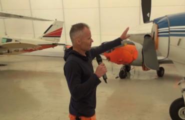 Timo tavoittelee hengenvaarallista ennätystä – lentokoneella pääsee hyppäämään vain yhdeksästä kilometristä – video!