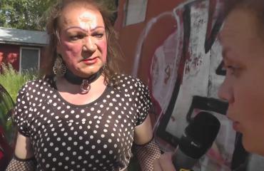Romutransu Markus Kuotesahosta meikkitaiteilija? Näin syntyy Markuksen glamour-meikki – katso video ja opi!