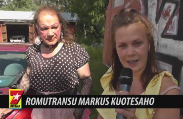 Romutransuksi kutsuttu Markus Kuotesaho romuttaa väitteet: En ole romu enkä transu!