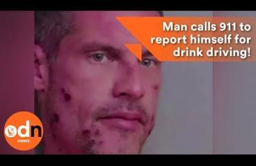 Rattijuoppo ilmiantoi itsensä - kuuntele poliisin julkaisema erikoinen hätäpuhelu!