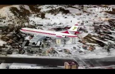 Seiskan toimittaja laskeutui '78 suihkukoneella Innsbruckin lentokentälle - moottori paloi, pelikaani lensi turbiiniin!