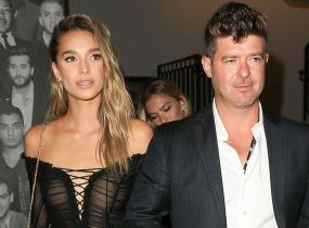 Robin Thicke ja April Love Geary